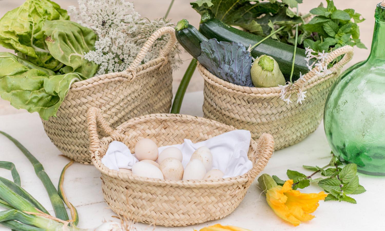 ingredientes frescos cocina saludable Kai Muller Cal Reiet Mallorca