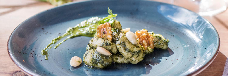 Gnocchi mit veganem Pesto Cal Reiet