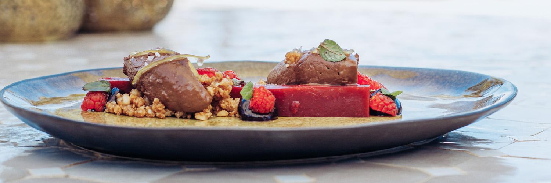 almond chocolate mousse vegan recipe mallorca cal reiet holistic retreat hotel